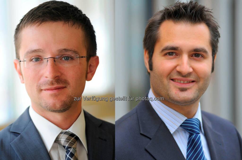 Michael Bergmann und Karl Szimak (Steuerberater) : LBG Österreich – Aufnahme in die Partnerschaft und Bestellung zu Geschäftsführern : Fotocredit: LBG Österreich, © Aussender (20.09.2016)
