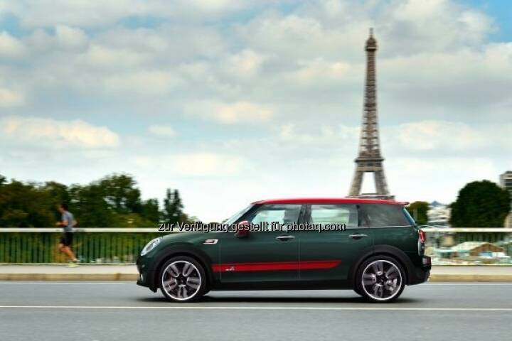 MINI John Cooper Works Clubman auf dem Mondial de l´Automobile Paris 2016 : Fotocredit © BMW Group