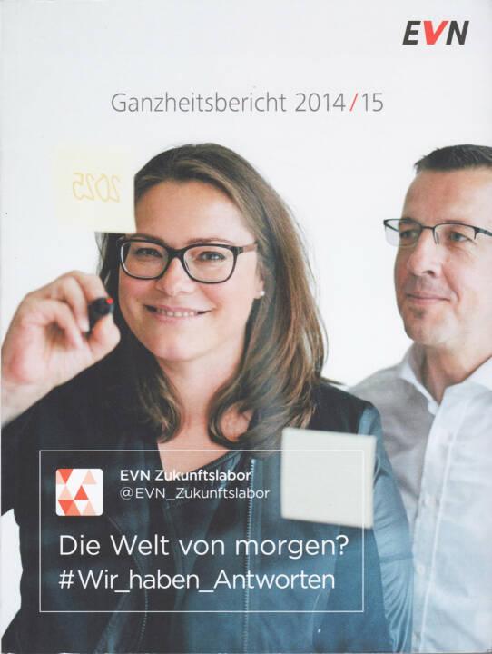 EVN Geschäftsbericht 2014/15 - http://boerse-social.com/companyreports/show/evn_geschaftsbericht_201415