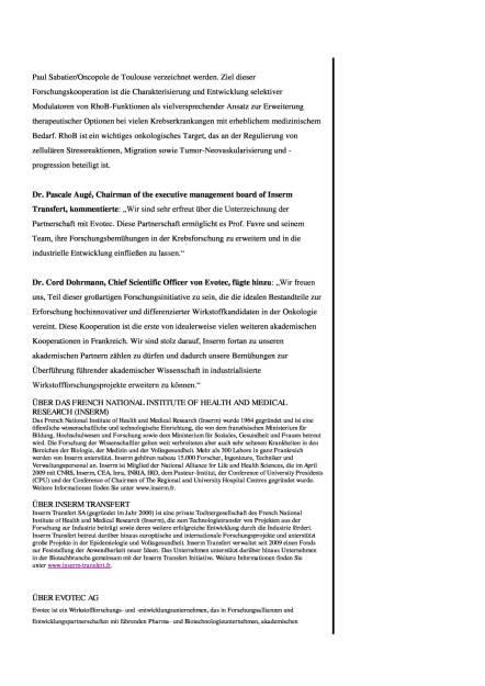 Evotec: Onkologie-Forschungs-Kooperation mit Inserm, Seite 2/3, komplettes Dokument unter http://boerse-social.com/static/uploads/file_1815_evotec_onkologie-forschungs-kooperation_mit_inserm.pdf (22.09.2016)