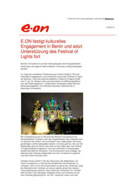 E.ON: Festival of Lights, Seite 1/2, komplettes Dokument unter http://boerse-social.com/static/uploads/file_1820_eon_festival_of_lights.pdf (22.09.2016)