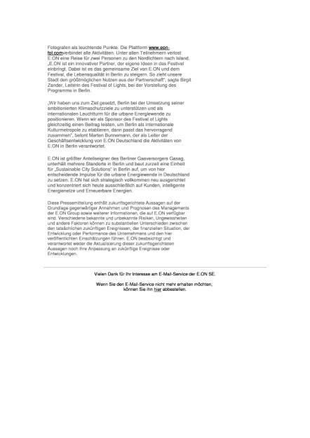 E.ON: Festival of Lights, Seite 2/2, komplettes Dokument unter http://boerse-social.com/static/uploads/file_1820_eon_festival_of_lights.pdf (22.09.2016)
