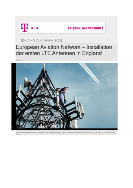 Deutsche Telekom: European Aviation Network , Seite 1/5, komplettes Dokument unter http://boerse-social.com/static/uploads/file_1821_deutsche_telekom_european_aviation_network.pdf (22.09.2016)