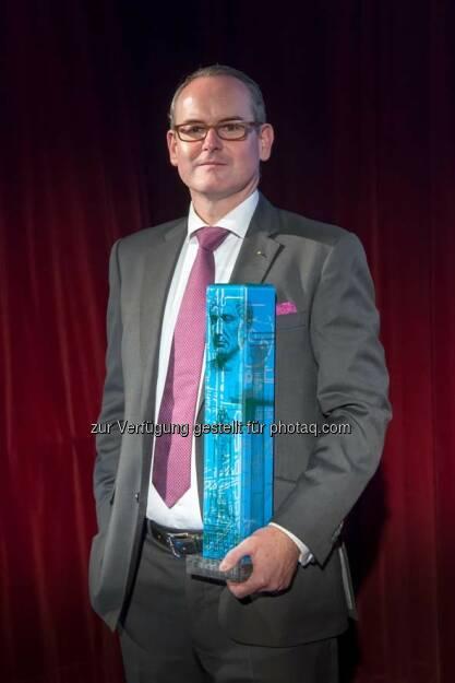 Herwig Teufelsdorfer (COO der Buwog AG) wurde in der Kategorie Cäsar International ausgezeichnet : Fotocredit: epamedia/Jana Madzigon, © Aussendung (23.09.2016)
