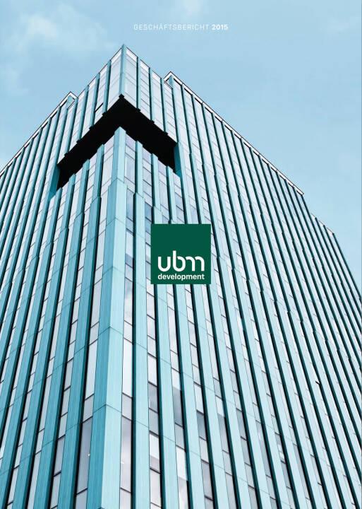 UBM Geschäftsbericht 2015 - http://boerse-social.com/companyreports/show/ubm_geschaftsbericht_2015
