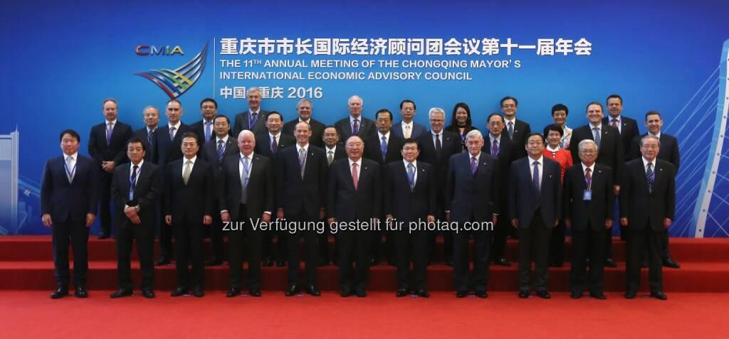 Hannes Androsch: International Economic Advisory Council (CMIA): AT & S Austria Technologie & Systemtechnik AG: Hannes Androsch: Impulse für Modernisierung der Wirtschaft in Chongqing, China, © Aussender (28.09.2016)