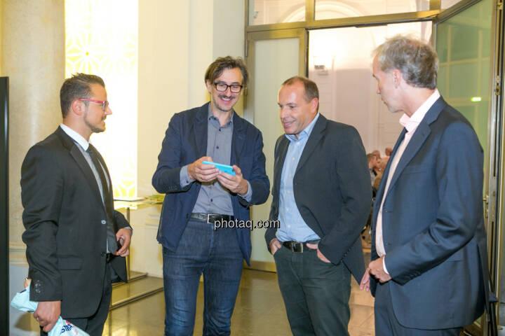 Michael Plos (BSN), Josef Chladek (BSN), Christian Drastil (BSN)