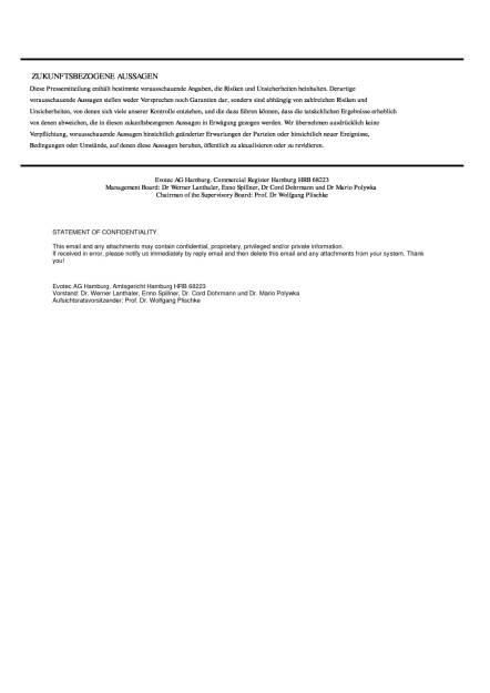 Evotec: Meilenstein in Endometriose-Allianz mit Bayer, Seite 3/3, komplettes Dokument unter http://boerse-social.com/static/uploads/file_1844_evotec_meilenstein_in_endometriose-allianz_mit_bayer.pdf