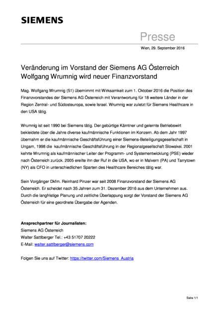 Siemens AG Österreich: Wolfgang Wrumnig wird neuer Finanzvorstand, Seite 1/1, komplettes Dokument unter http://boerse-social.com/static/uploads/file_1847_siemens_ag_osterreich_wolfgang_wrumnig_wird_neuer_finanzvorstand.pdf