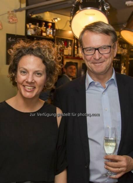 Sabine Hoffmann (ambuzzador), Christoph Stadlhuber (CEO Signa Prime Selection)