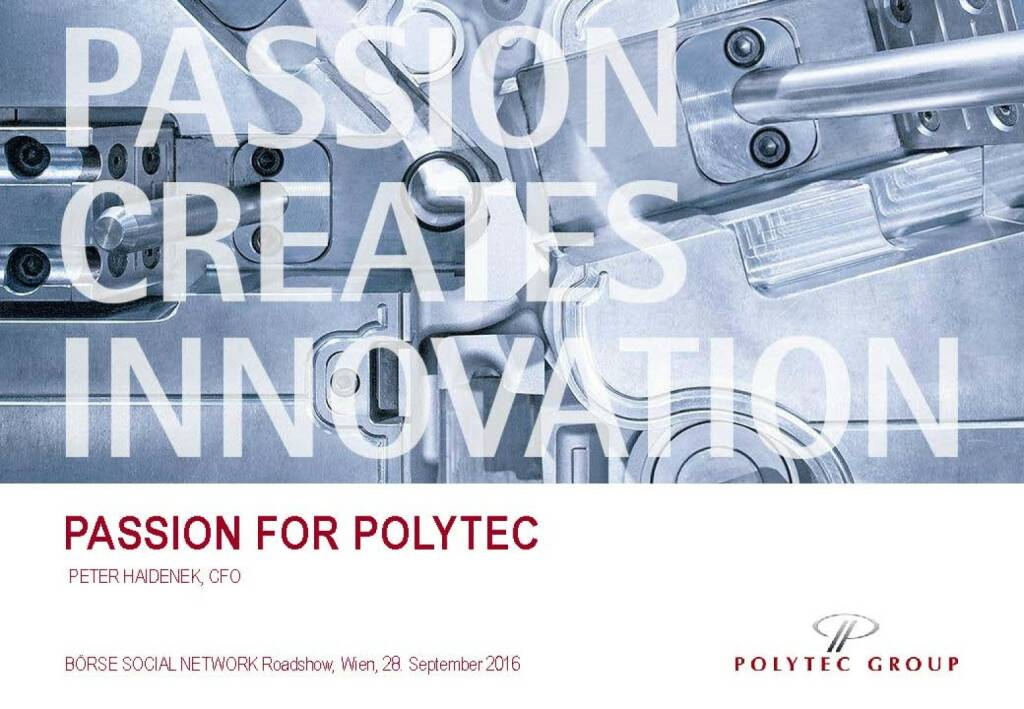 Passion for Polytec (29.09.2016)