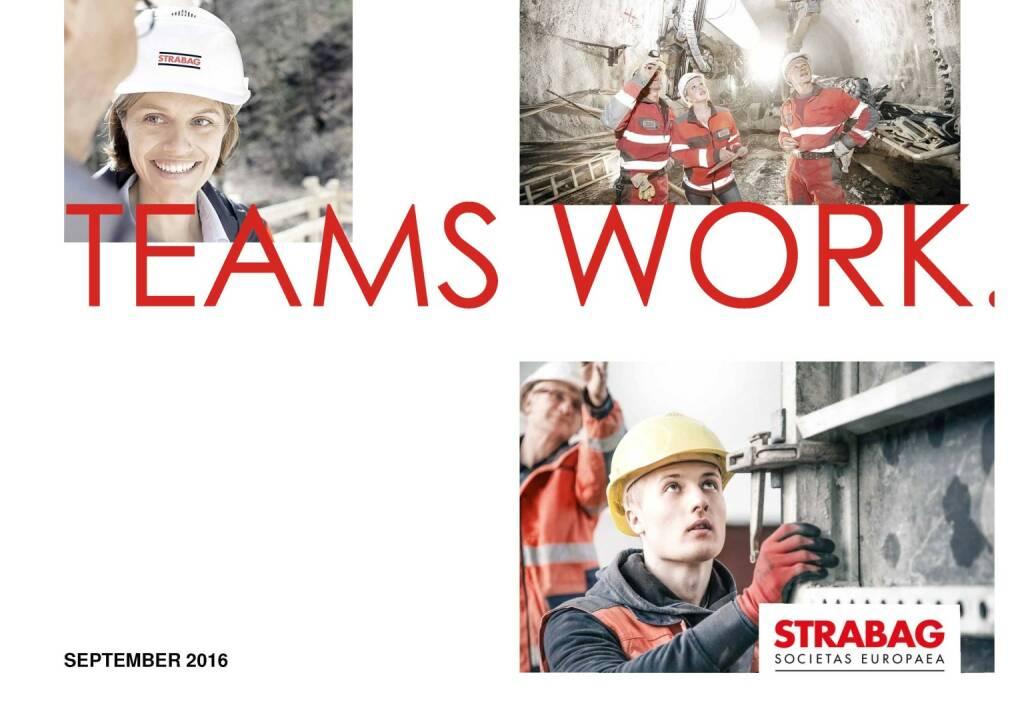 Strabag - Teams Work. (29.09.2016)