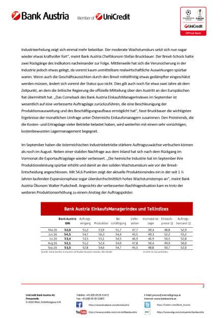 Österreichs Industrie – Auswirkungen der Brexit-Entscheidung erstmal überwunden, Seite 2/4, komplettes Dokument unter http://boerse-social.com/static/uploads/file_1849_osterreichs_industrie_auswirkungen_der_brexit-entscheidung_erstmal_uberwunden.pdf