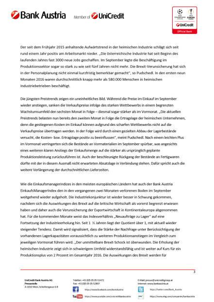 Österreichs Industrie – Auswirkungen der Brexit-Entscheidung erstmal überwunden, Seite 3/4, komplettes Dokument unter http://boerse-social.com/static/uploads/file_1849_osterreichs_industrie_auswirkungen_der_brexit-entscheidung_erstmal_uberwunden.pdf