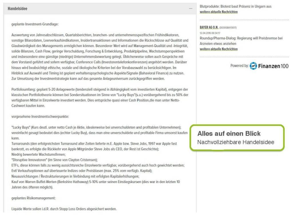 wikifolio.com - alles auf einen Blick
