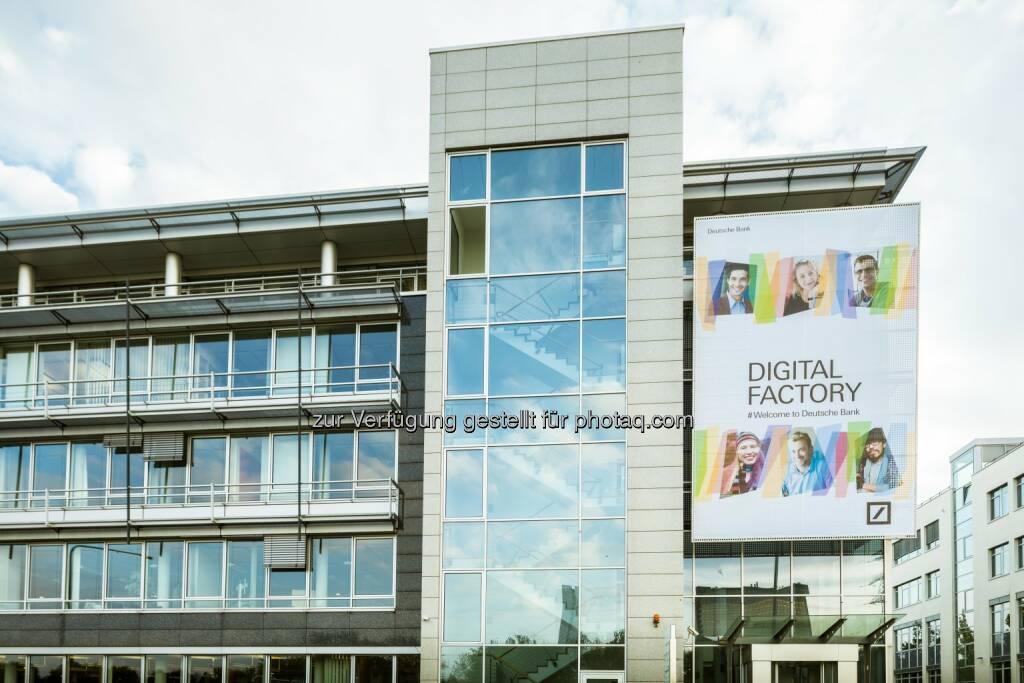 Deutsche Bank eröffnet Digitalfabrik in Frankfurt : Fotocredit: Deutsche Bank AG, © Aussendung (29.09.2016)