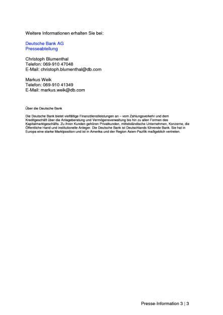 Deutsche Bank eröffnet Digitalfabrik in Frankfurt, Seite 3/3, komplettes Dokument unter http://boerse-social.com/static/uploads/file_1854_deutsche_bank_eroffnet_digitalfabrik_in_frankfurt.pdf