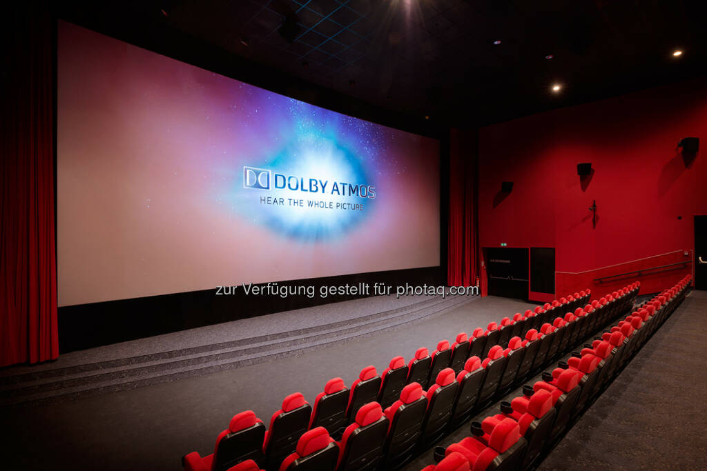 Der neue Saal 1 mit Laserprojektion und Dolby Atmos Sound im Cineplexx Wörgl : Cineplexx setzt neue Maßstäbe und bringt erstmals Laserprojektion nach Tirol : Fotocredit: Cinepromotion/Koehler, © Aussendung (29.09.2016)