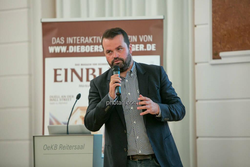 Stefan Greunz (Wikifolio), © Martina Draper/photaq (29.09.2016)