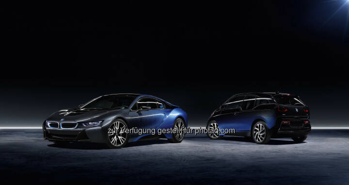 BMW i3 und BMW i8 Garage Italia CrossFade : BMW i und Garage Italia Customs präsentieren den BMW i3 und den BMW i8 Garage Italia CrossFade bei der Mondial de l'Automobile 2016 in Paris : Fotocredit ©BMW Group