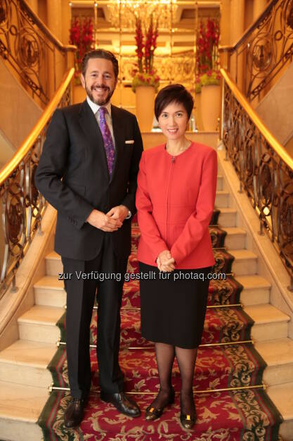 Harald Mahrer (Staatssekretär), Josephine Teo (Außenministerin Singapur) : Zusammenarbeit mit Singapur durch drei Wirtschafts- und Wissenschaftsabkommen erweitert : Fotocredit: bmwfw / Marcos Aray, © Aussendung (30.09.2016)