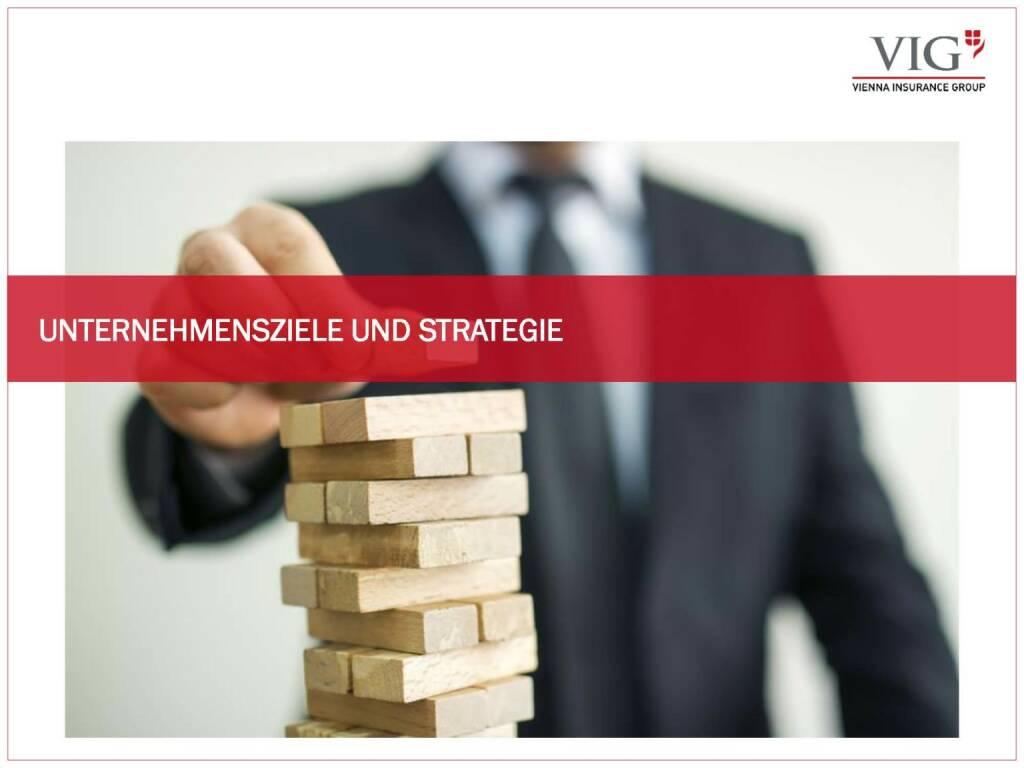 Vienna Insurance Group - Unternehmensziele und Strategie VIG (03.10.2016)