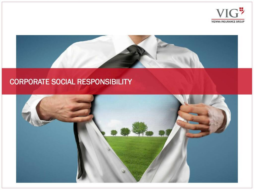 Vienna Insurance Group - Corporate Social Responsibility (03.10.2016)
