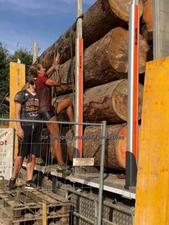 Martina Kaltenreiner beim 5. Raiffeisen Wipfelbeisser, klettern, bergauf, hinauf© Gerhardl Haba