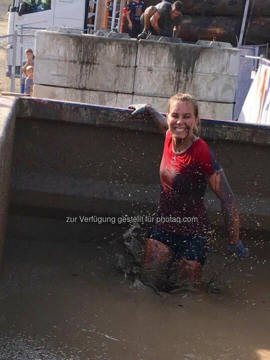 Martina Kaltenreiner beim 5. Raiffeisen Wipfelbeisser© Gerhardl Haba