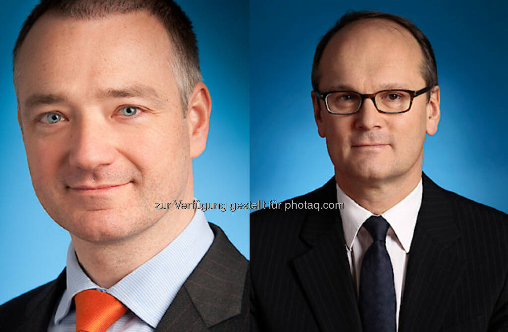 Erik Steger (Partner Wolf Theiss & Member of Management Board), Horst Ebhardt (Partner Wolf Theiss, Head of Corporate and M&A) : FT ranks Wolf Theiss as one of the most innovative law firms in Europe : Fotocredit: WT, © Aussendung (06.10.2016)