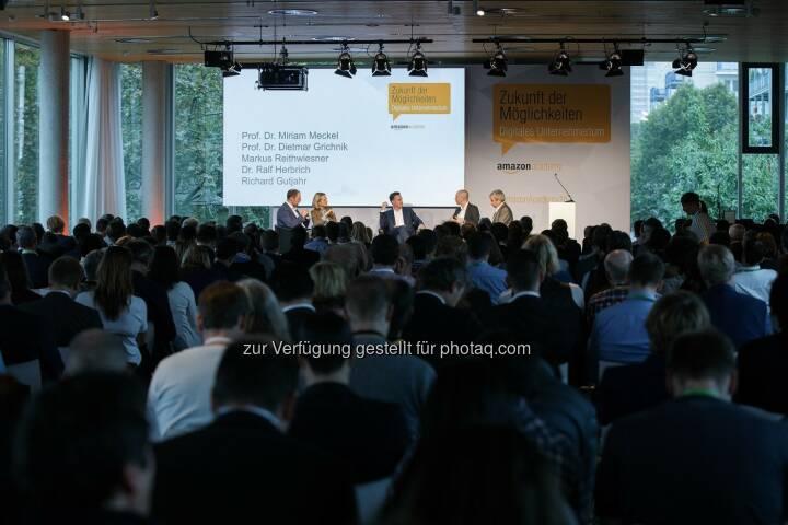 Diskussionspanel der Amazon Academy in Berlin : Amazon startet Förderprogramm für Online-Erfolg kleiner Händler : Fotocredit: amazon.de