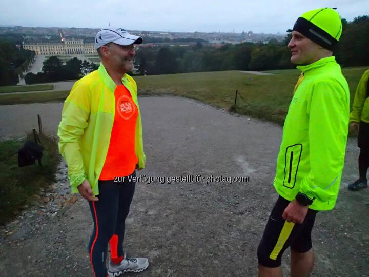 Hannes Rotheneder und Thomas Pundy