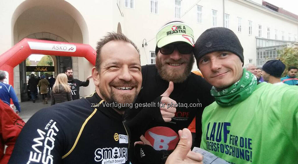 Andreas Gindlhumer, Tino Griesbach, Markus Steinacher (08.10.2016)
