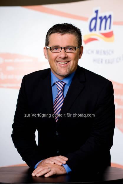 Hubert Krabichler, dm Geschäftsführer : dm drogerie markt expandiert nach Italien : Fotocredit: dm/Graf, © Aussendung (10.10.2016)