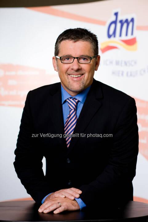 Hubert Krabichler, dm Geschäftsführer : dm drogerie markt expandiert nach Italien : Fotocredit: dm/Graf
