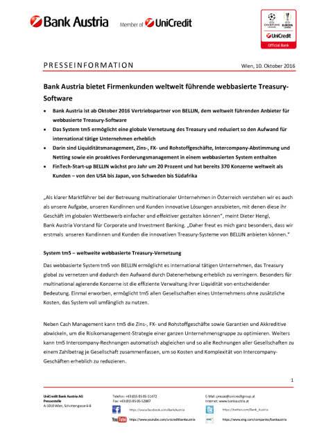 Bank Austria: Kooperation Bellin, Seite 1/3, komplettes Dokument unter http://boerse-social.com/static/uploads/file_1885_bank_austria_kooperation_bellin.pdf (10.10.2016)
