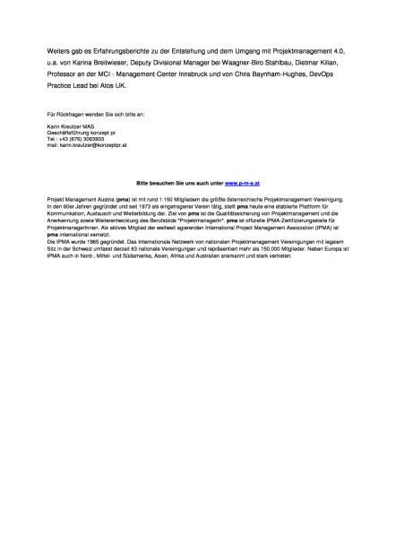 Projekt Management Austria: pma focus 2016, Seite 2/2, komplettes Dokument unter http://boerse-social.com/static/uploads/file_1886_projekt_management_austria_pma_focus_2016.pdf (10.10.2016)