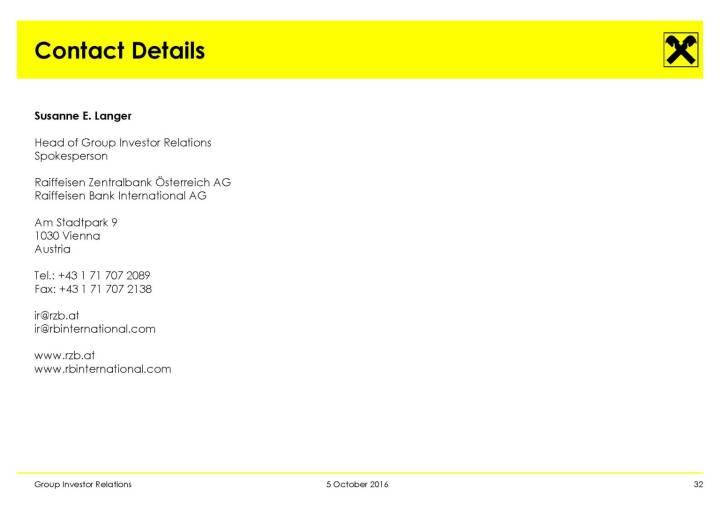 RBI - Contact Details