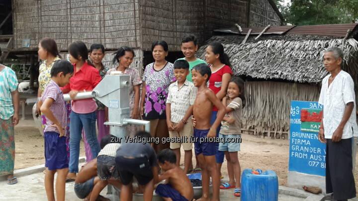 Brunnen Nummer 208 im Dorf Ta Yeung, Bezirk Som Raung : Grander® unterstützt Brunnenbau in Kambodscha : Fotocredit: F. Kieninger - Verein Kakihe