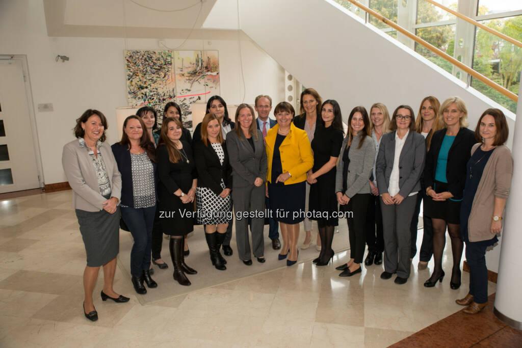 Herta Stockbauer eröffnete gestern das dritte Frauenkarriereprogramm der BKS Bank (C) Kärntenblitz), © Aussender (12.10.2016)