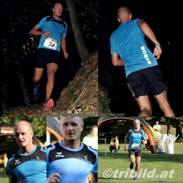 Markus Steinacher beim 2. Mana Speed Trail in Fürstenfeld (12.10.2016)