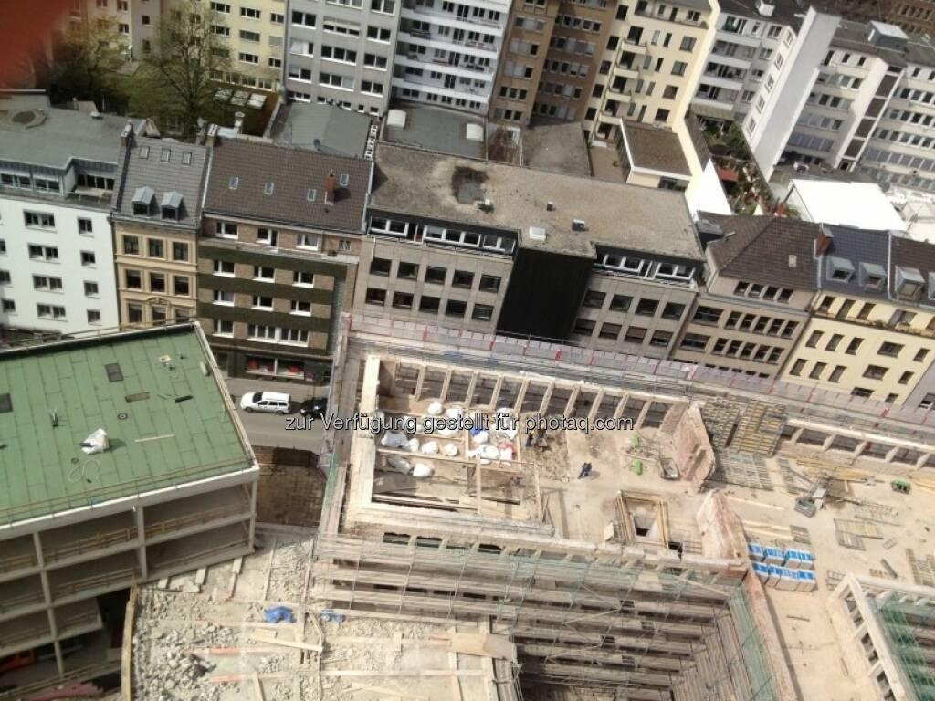 Baustelle Gerling Hochhaus (29.04.2013)