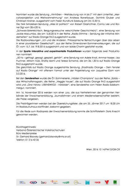 KEBO: Nominierungen 19. Radiopreis der Erwachsenenbildung, Seite 2/2, komplettes Dokument unter http://boerse-social.com/static/uploads/file_1905_kebo_nominierungen_19_radiopreis_der_erwachsenenbildung.pdf (14.10.2016)