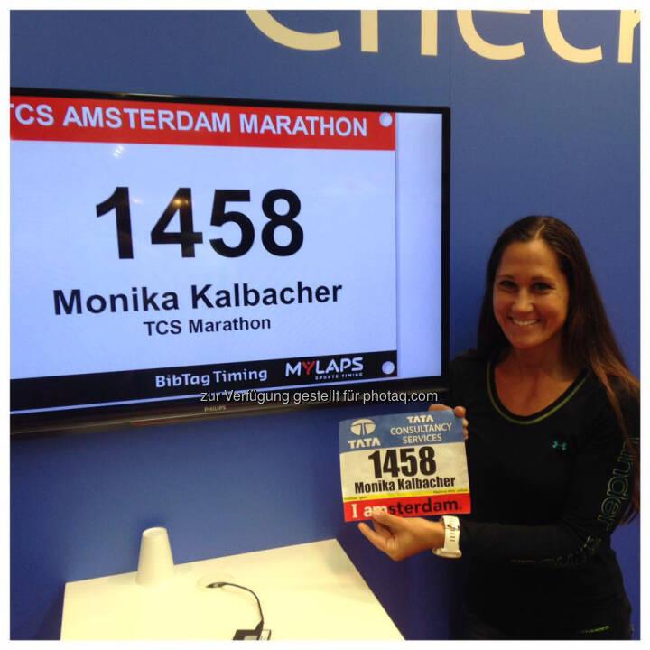 Monika Kalbacher Runplugged in Amsterdam