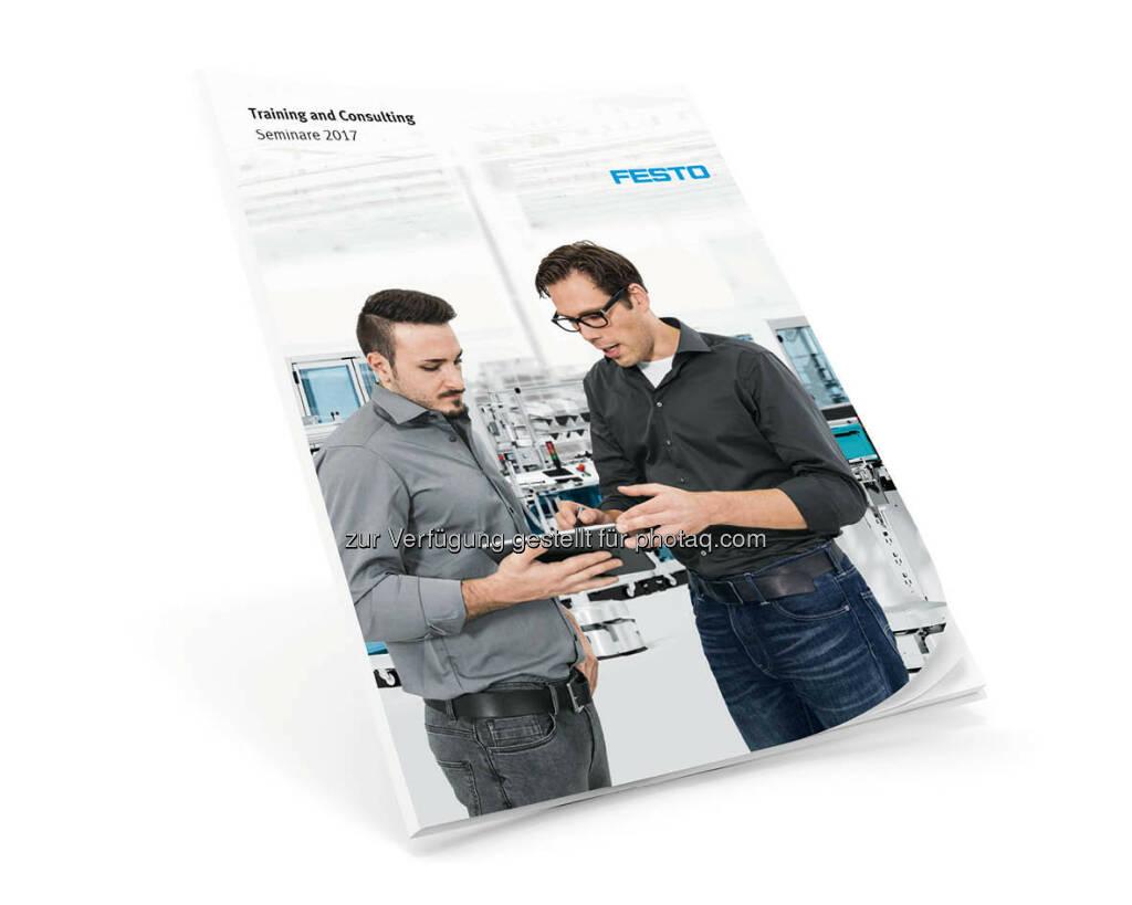 Seminarplan 2017 von Festo Training and Consulting : PI Festo Training and Consulting: Kompetenzen für die Fertigung der Zukunft : Fotocredit: Festo, © Aussender (17.10.2016)