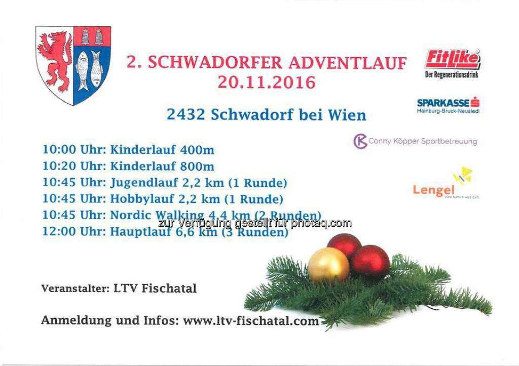 Schwadorfer Adventlauf (18.10.2016)