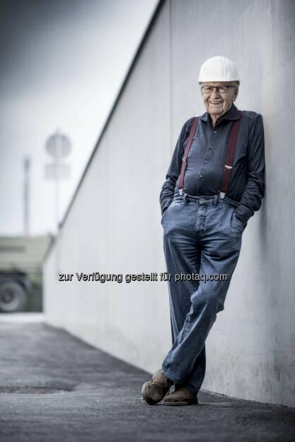 Karl Schwarzl (Bauherr) : Unternehmen profitieren von der neuerbauten Schwarzl-Flexbox Halle am künftigen Südgürtel von Graz : Fotocredit: Schwarzl Flexbox/ Christian Jungwirth, © Aussendung (19.10.2016)