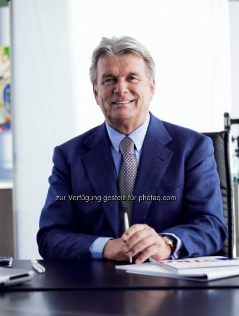 Hans Peter Haselsteiner legt seinen CEO-Posten bei der Strabag per 14.6.2013 zurück (29.04.2013)