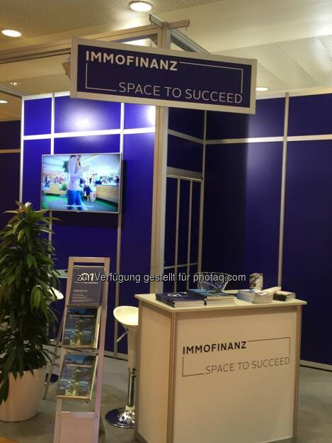 #immofinanz auf der Gewinn Messe 2016 - Besuchen Sie uns heute und morgen auf Stand C05b - Messe Center Wien https://twitter.com/bettinaschragl/status/789054238764765184/photo/1  Source: http://twitter.com/bettinaschragl, © Aussendung (20.10.2016)