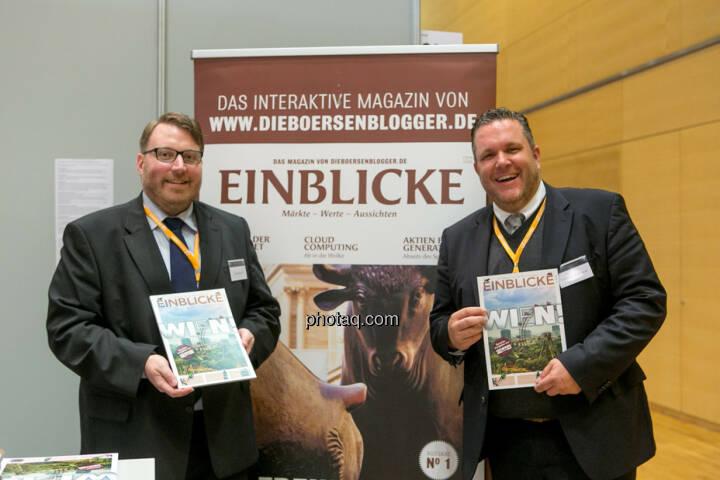 Marc Schmidt, Christoph Scherbaum (Die Börsenblogger), Einblicke